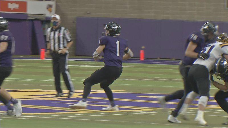 OABCIG quarterback Cooper DeJean threw five touchdown passes in a win against Sigourney-Keota...