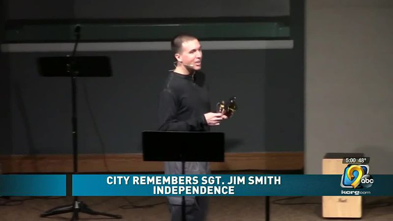 City remembers Iowa State Patrol Sgt. Jim Smith