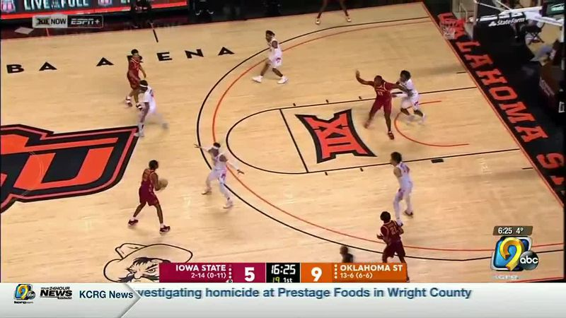 HIGHLIGHTS: Iowa State at Oklahoma State