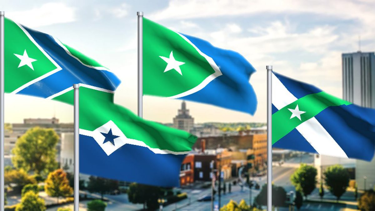 Cedar Rapids is asking residents to help pick the city's new flag by going to its website and...