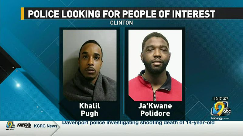 Police looking for persons of interest in Clinton violent crime investigation