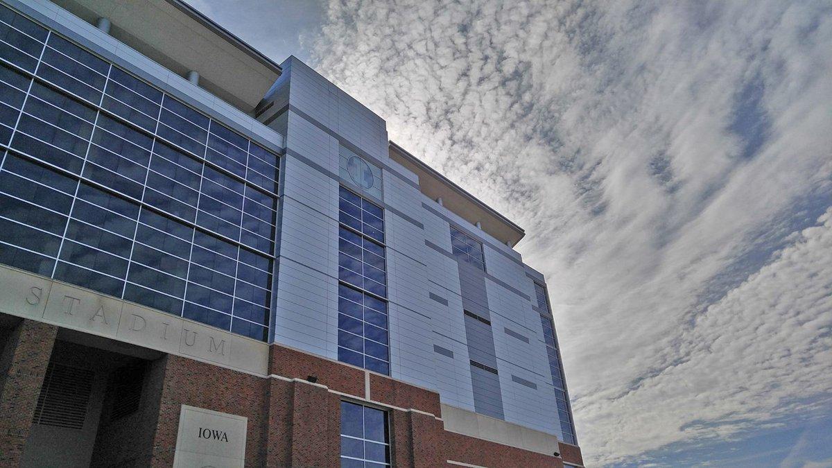 Kinnick Stadium in Iowa City.