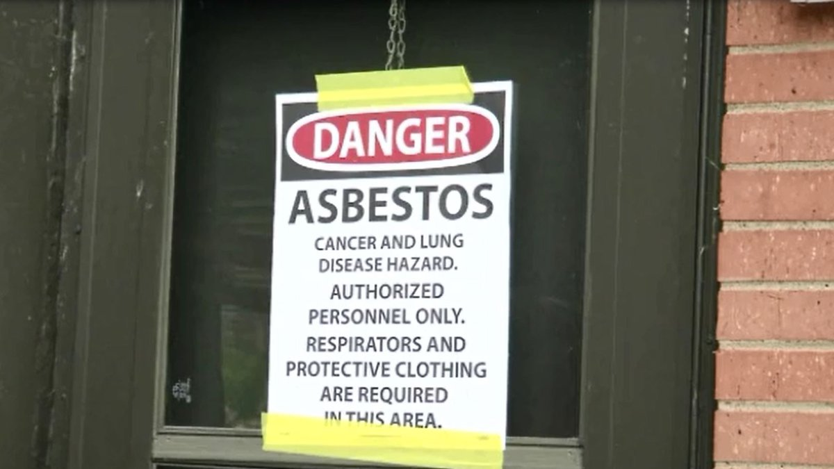 The DNR released findings of an investigation into the asbestos at Cedar Rapids Washington High...