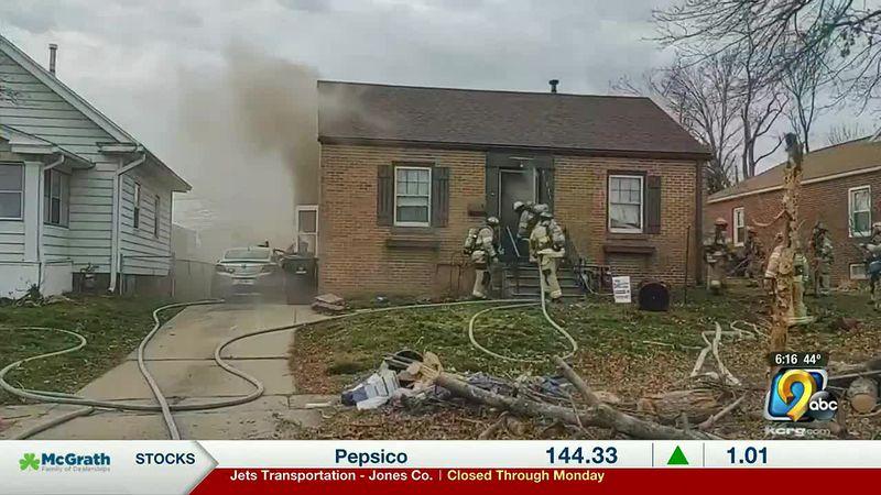 Cedar Rapids house fire