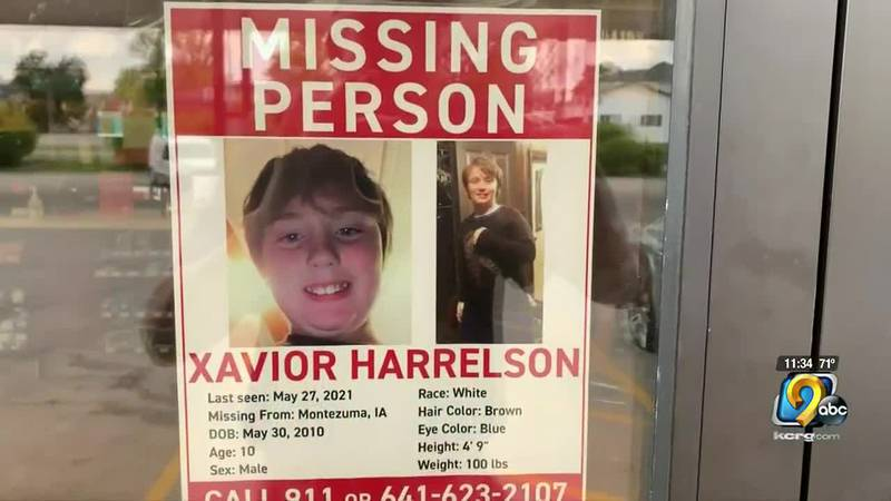 4 weeks since the disappearance of Xavior Harrelson