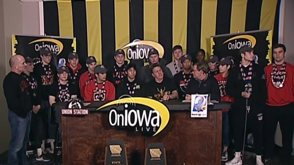 State Wrestling Dual state champion Lisbon joins On Iowa Live (KCRG)