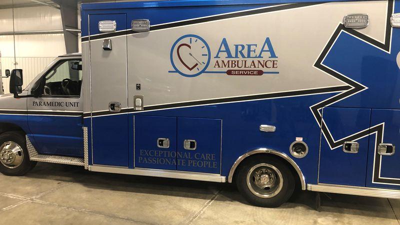 Area Ambulance Service celebrates 50 years of serving the community.