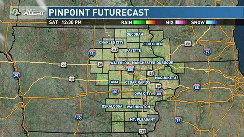Expect dry conditions and clear skies.