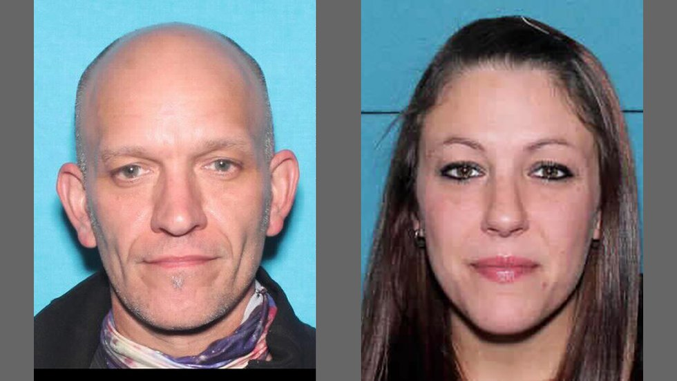 Jeremy John Keil, 46, left, and Amy Lynn Burick, 35, right.