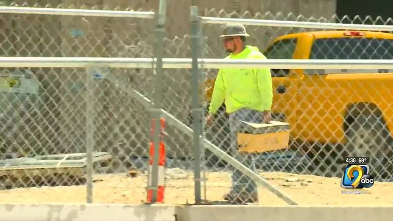 The construction industry is also facing a worker shortage.