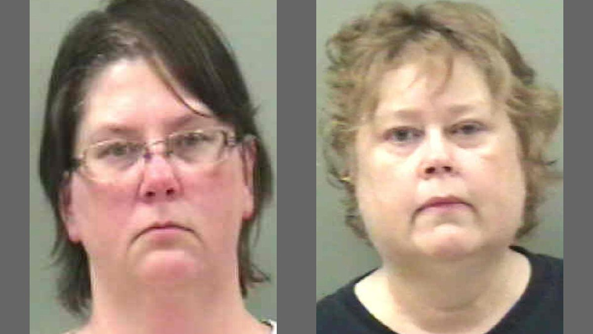 Kimberly Curtis, 46 and Karen Curtis, 56, face 28 counts of animal neglect after more than a...