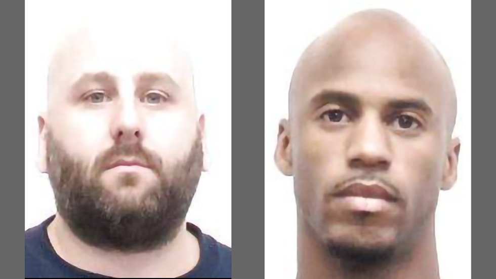 Thomas Woodard, left, 39, and Michael Dutcher, 28, right.