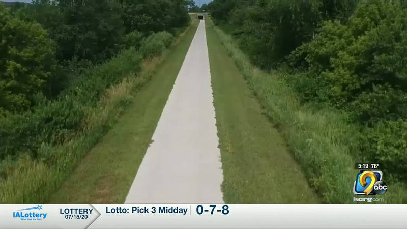 A recreational trail in Marion.