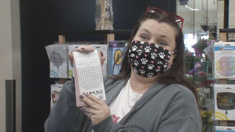 Terri Kilts purchased 15 Powerball tickets at Hy-Vee on Johnson Avenue in Cedar Rapids on...