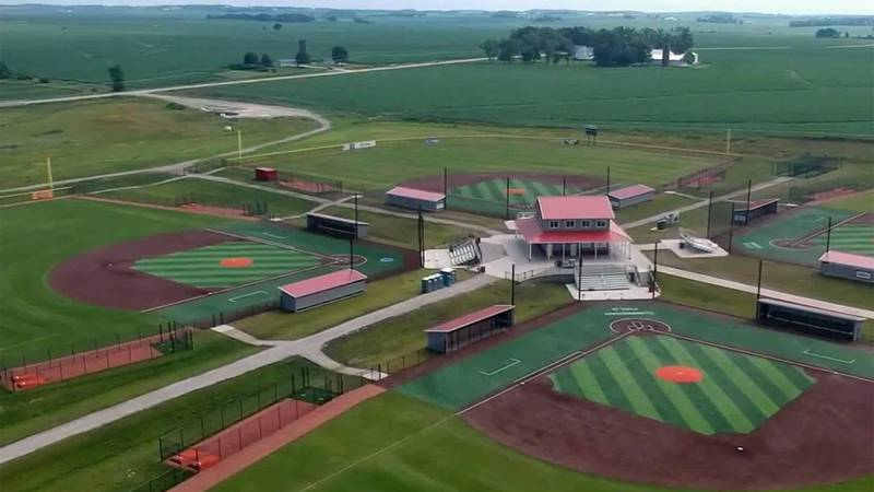 An aerial view of Prospect Meadows in Marion.
