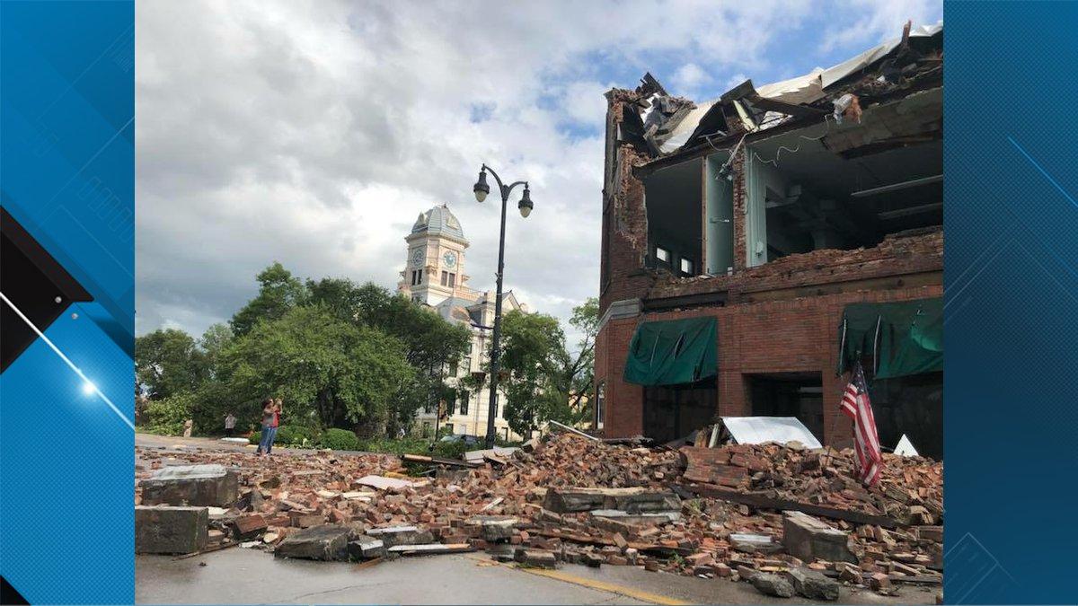 Marshalltown damage (Source: Jackie)
