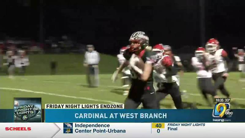 West Branch takes a playoff victory at the Little Rose Bowl, 35-6 over Cardinal