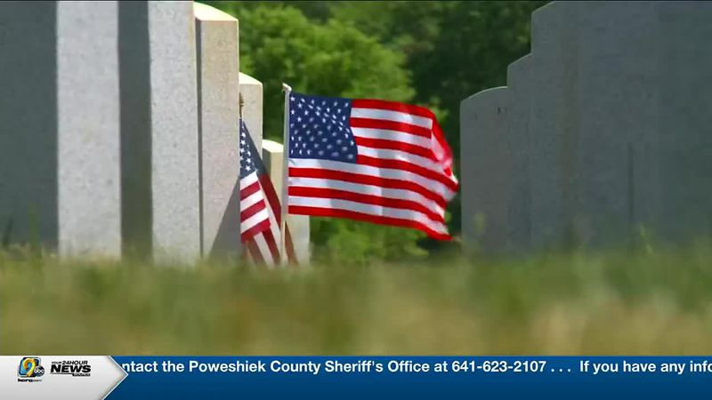 Iowa veterans and spouses to be buried at Iowa Veterans Cemetery