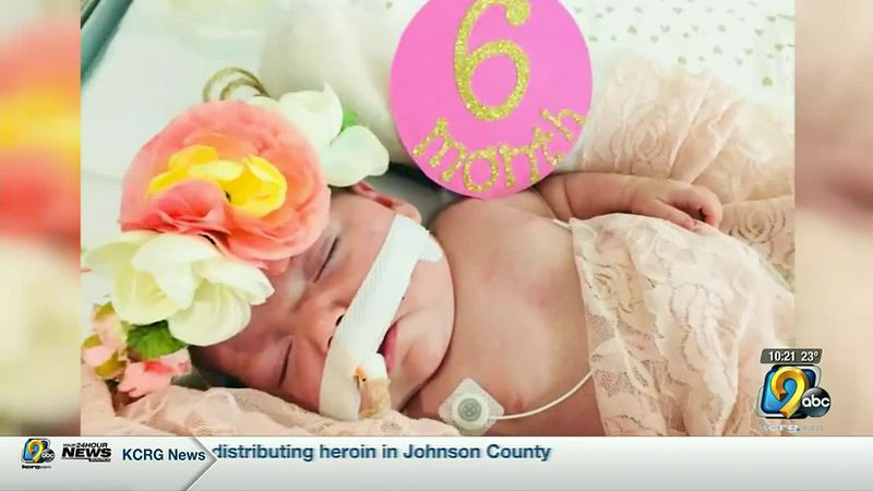 Baby born prematurely comes home after 269 days in the hospital