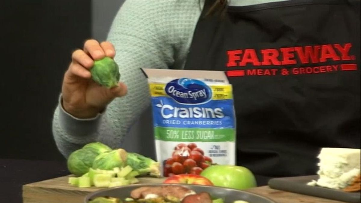 Fareway Dietitian Whitney Hemmer tells us how to prepare Brussels sprouts to make a delicious, healthy meal (KCRG)