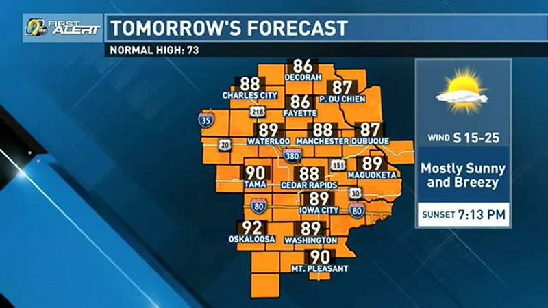 As we near the start of fall next week, summer will try to get in one last word with a toasty...