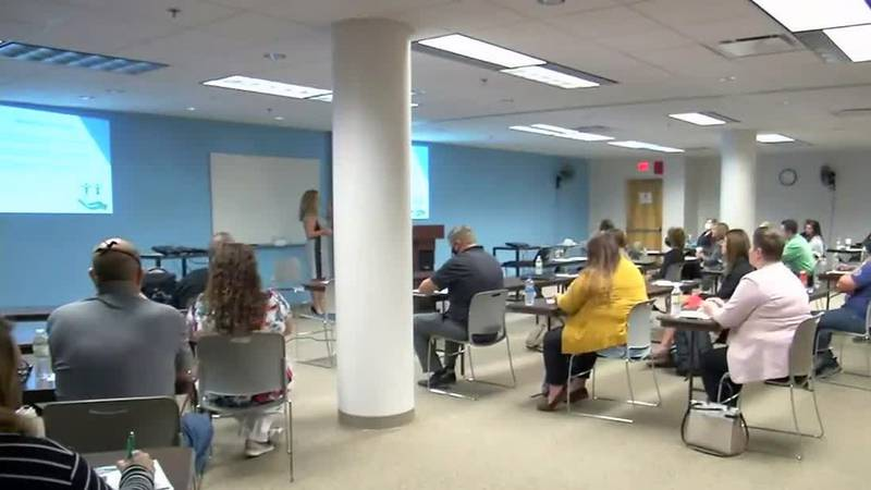 Local business leaders discuss workforce challenges amid pandemic.