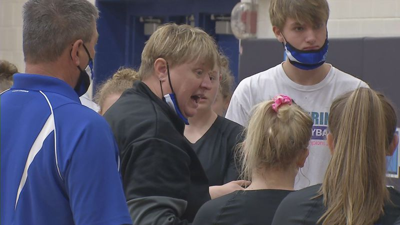 Dike-New Hartford was one of six ranked teams that participated in the Cedar Rapids Jefferson...