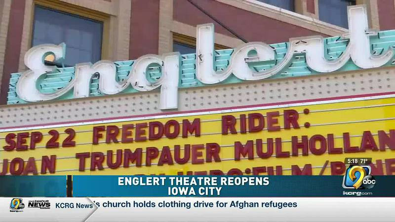 Englert Theatre re-opens after 18 months off, unveiling additions from capital campaign