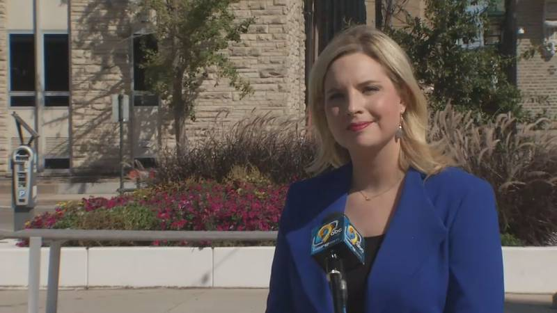 TV9 talked with Ashley Hinson one on one regarding her campaign for Iowa's 1st Congressional...