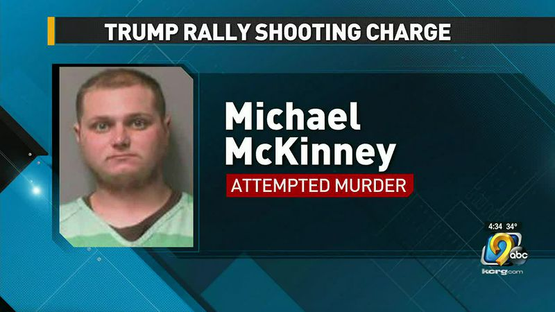 White Army vet charged with shooting Black girl at Trump rally