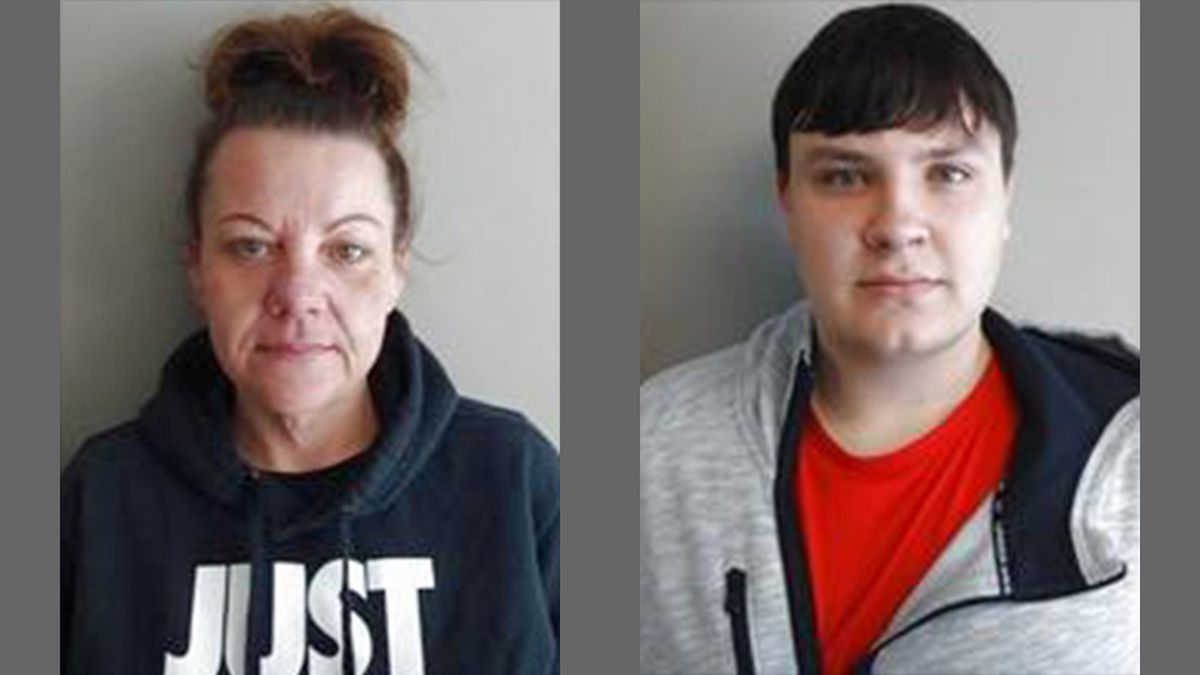 Sandra Lalumendre, left, 36, and Ethan Ehlers, right, 20 (Courtesy: Iowa Department of Corrections)