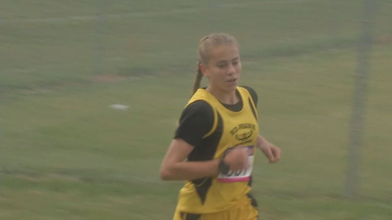 Danielle Hostetler led the Mid-Prairie girls to a team title in Thursday's state qualifying...