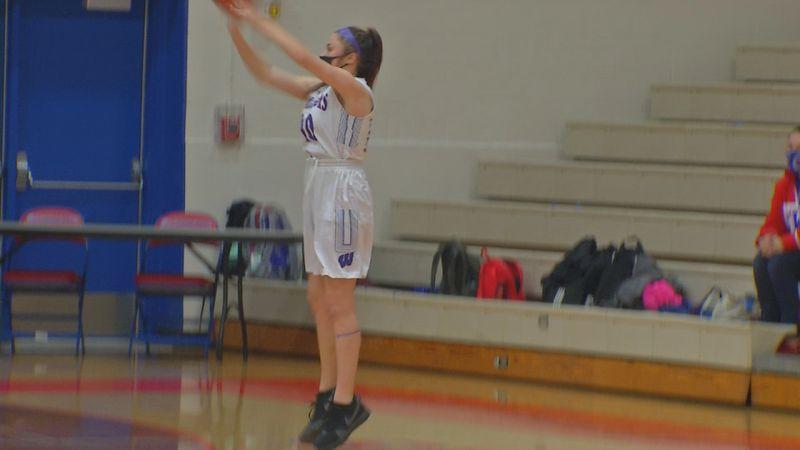 The Cedar Rapids Washington girls basketball team dominated rival Jefferson on Friday evening,...