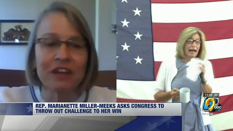 Miller-Meeks asking Congress to throw out Hart's challenge to her win