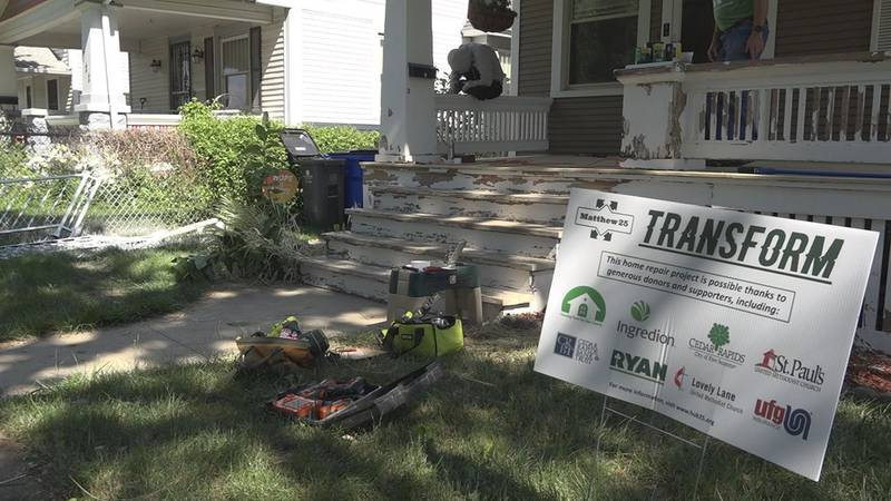An annual push to fix-up homes in Cedar Rapids is taking on a new focus this year. It's part of...