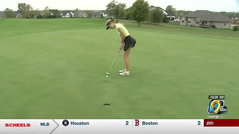 15-year-old phenom Morgan Rupp learned golf from her dad. Now, she beats him.