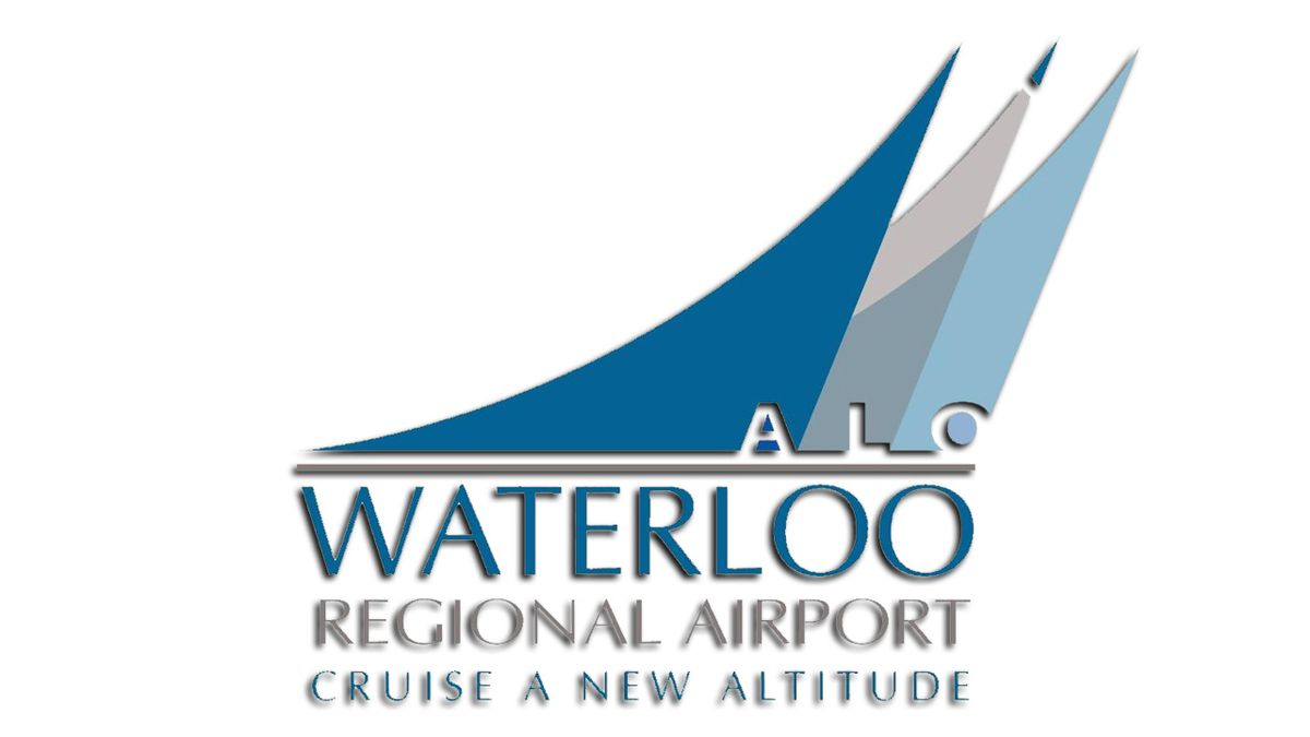 Waterloo Regional Airport is a city-owned airport that is used for general aviation and offers commercial service to Chicago (Courtesy: Waterloo Regional Airpot/flyalo.com)