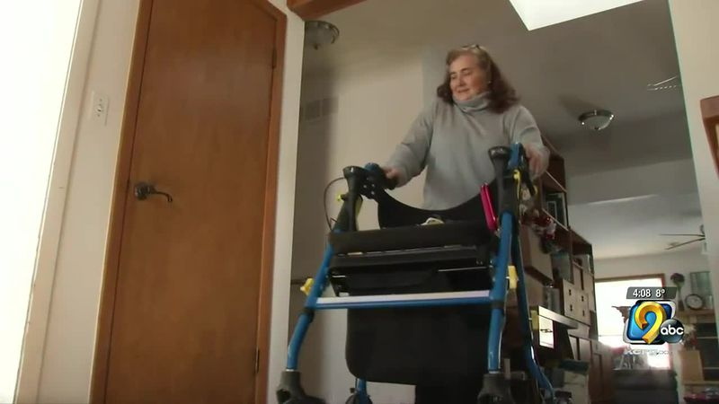 Woman with Cerebral palsy wants people to remember the importance of shoveling sidewalks