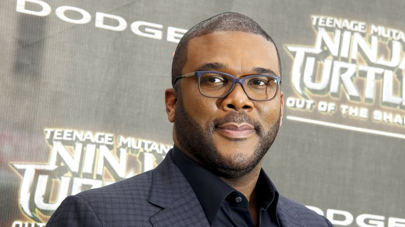 """Tyler Perry attends the world premiere of """"Teenage Mutant Ninja Turtles: Out of the Shadows"""" at..."""