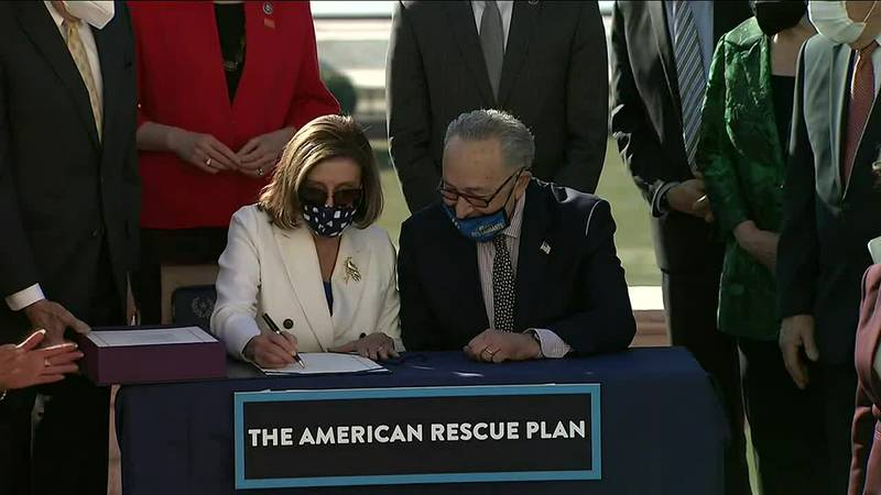 Democrats in the House lead passage of latest stimulus plan.