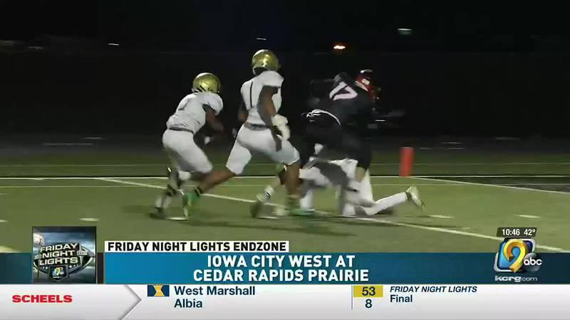 Cedar Rapids Prairie bounces back with a 50-14 win over Iowa City West