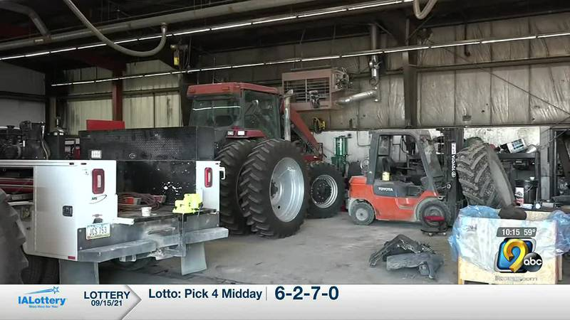 Farm equipment dealers in Dyersville are reporting GPS equipment robberies in their tractors.