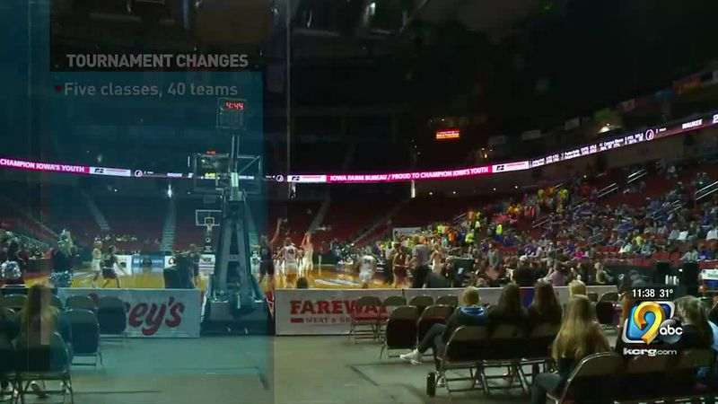 The Iowa High School Girls basketball tournament is now underway in Des Moines.