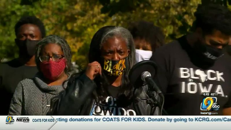 The Des Moines Black Lives Matter group is calling for a Black state of emergency in Iowa.