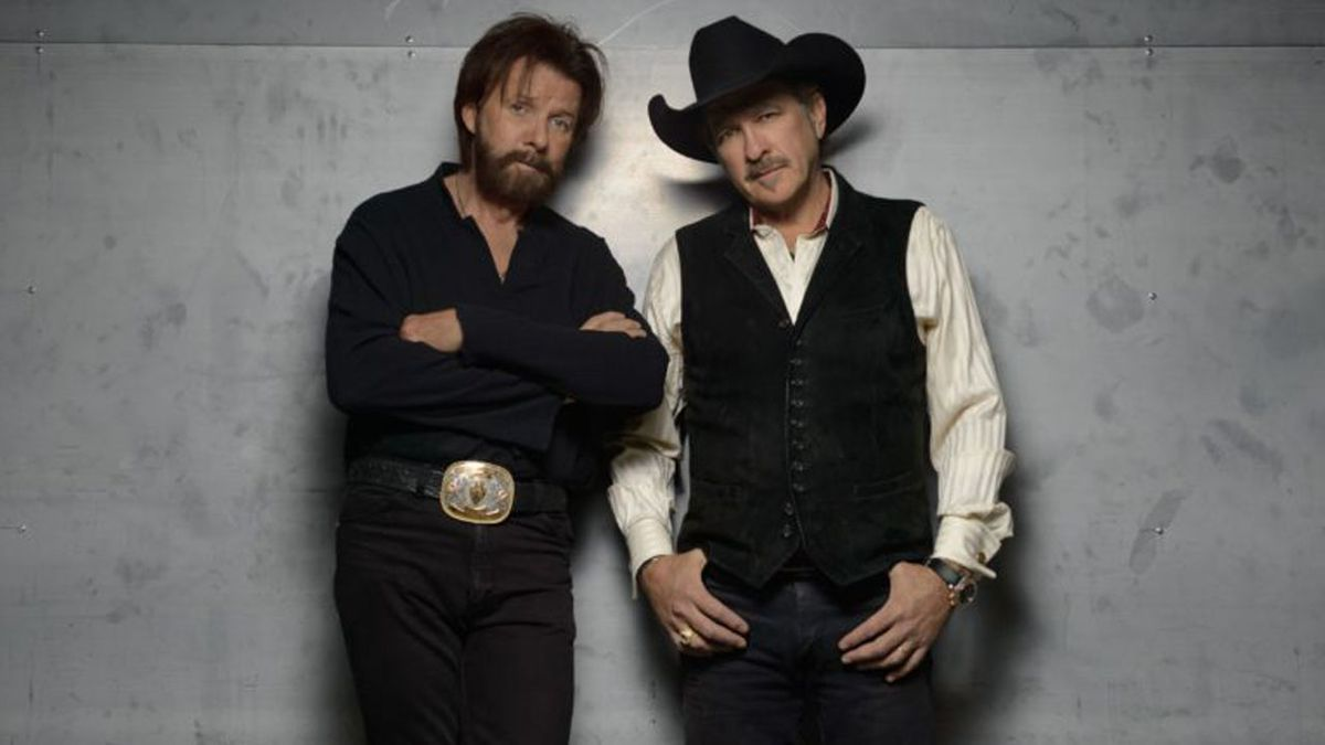 On Tuesday, January 14, 2020, Brooks and Dunn announced their REBOOT 2020 TOUR. (Courtesy: Brooks and Dunn)