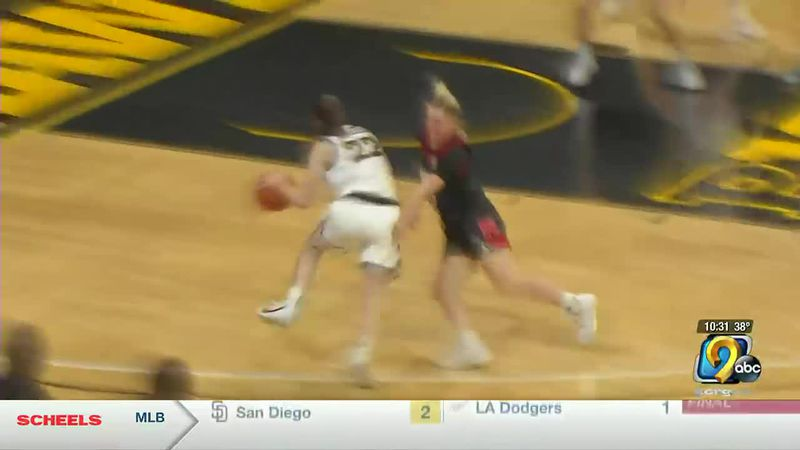 Caitlin Clark scored 25 of her 35 points in the second half to give Iowa a win over Nebraska on...