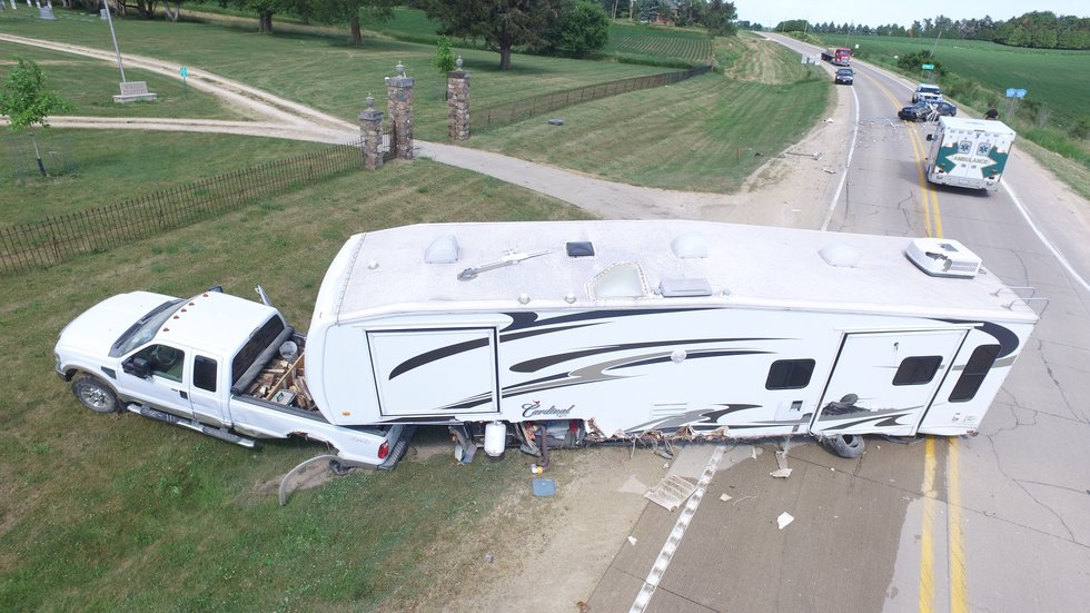 A car accident in Jones County sent a 17-year-old to the hospital on Friday, June 18, 2021.