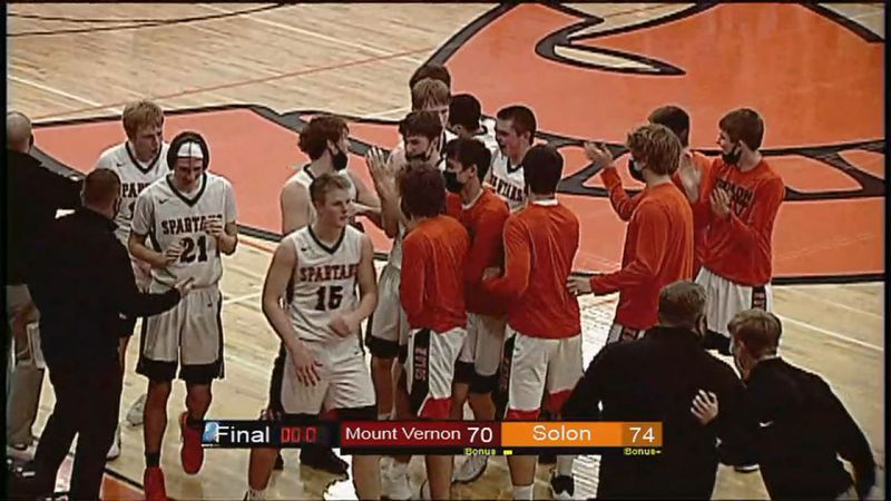 Solon extended its winning streak to 10 games after beating Mount Vernon in overtime on Friday...