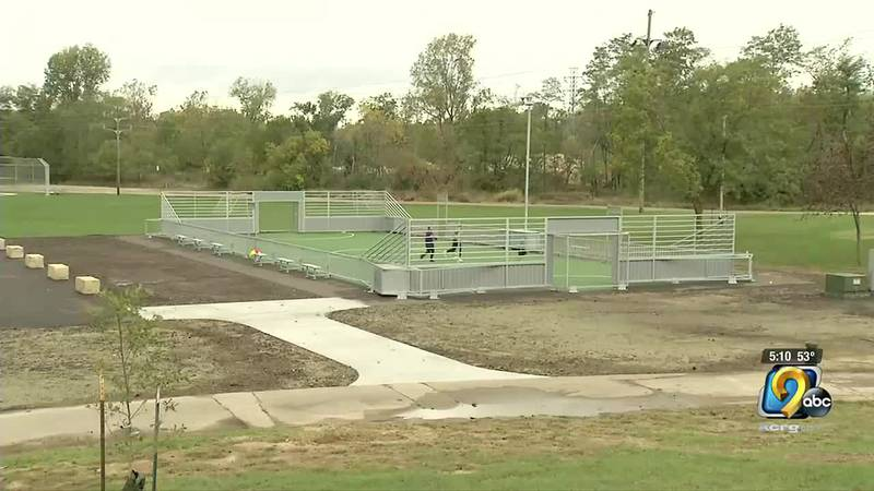 There is something new for soccer players in Marion.