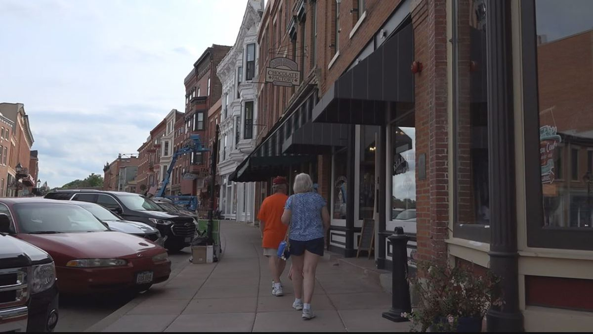 The City of Galena drafter an ordinance to allow the sales of recreational marijuana within the city on August 12th, 2019 in Galena, Illinois. (MAGGIE WEDLAKE/KCRG)